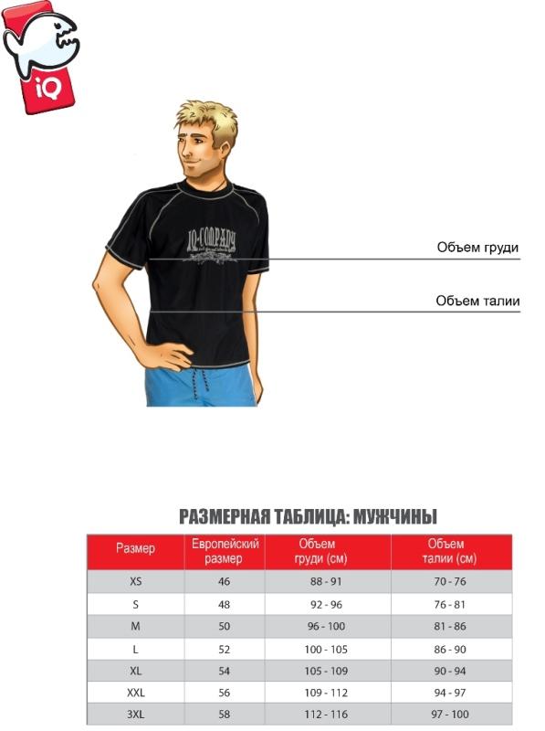 IQ: размеры мужской одежды