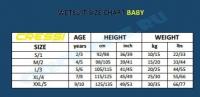 Гидрокостюм для детей Cressi Baby 2