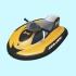 Детский гидроцикл Aquamate надувной