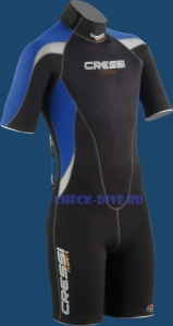 Гидрокостюм шорти Med, 2,5 мм мужской 1