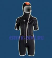 Гидрокостюм куртка Dive 5.5 мм женская 1