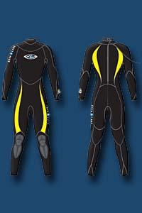 Гидрокостюм Aqua Lung-Safaga 3мм мужской 1