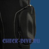 Сухой гидрокостюм Waterproof D10 PRO ISS женский 5