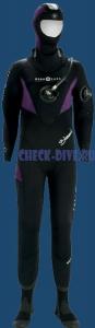 Сухой костюм для дайвинга Blizzard 2011 женский 1