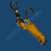 Рифовый крюк двойной с карабином Problue 1