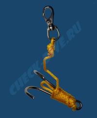 Рифовый крюк двойной с карабином Problue 2