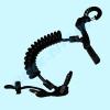 Пружинный ретрактор 1 карабин 1 кольцо Aropec