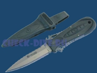 Дайверский нож Wenoka Squeeze Lock Stiletto титан 1