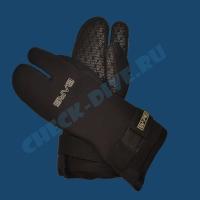 Трёхпалые рукавицы Bare 7мм 1