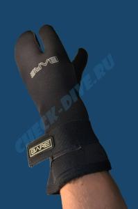 Трёхпалые рукавицы Bare 7мм 3