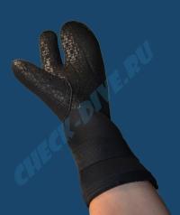 Трёхпалые рукавицы Bare 7мм 4