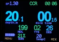 Подводный компьютер AV1 4