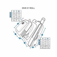 Сумка дайверская на колесах Dive'n Roll 3