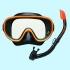 Комплект маска трубка Tusa UCR-0101