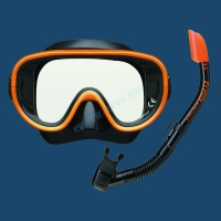 Комплект маска трубка Tusa UCR-0101 4