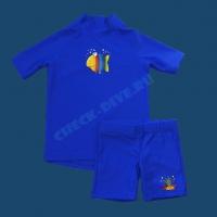 Комплект детский MiaCarlo, iQUV300+, футболка кор.рукав + шорты 1