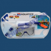 Набор маска трубка Aquatics Монтего 1