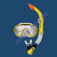 Комплект маска трубка Aqualung Оверсайз Про 2