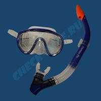 Комплект маска трубка Aqualung Оверсайз Про 1