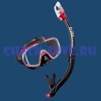 Комплект маска трубка Tusa Black Series UC3125 2