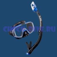 Комплект маска трубка Tusa Black Series UC3125 1