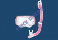 Детский комплект маска с трубкой Mini-Cleo 1