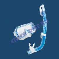 Детский комплект маска с трубкой Mini-Cleo 2