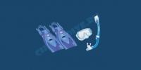 Комплект детский Tusa Mini-Kleio с «сухой» трубкой 3
