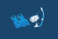 Комплект детский маска трубка ласты UP 2414 2
