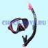 Комплект маска трубка Tusa UC1625 Black Series