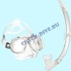 Набор маска трубка Technisub Look2 White