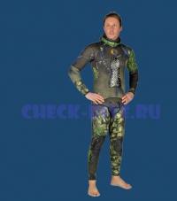 Куртка Sporasub Sea Green 3D Camo 7мм 1
