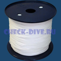 Линь белый Dyneema 2мм 1