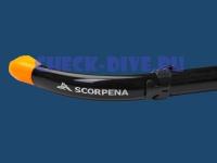 Трубка Scorpena S с клапаном, мягкая 3