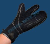 Перчатки Waterproof G1 7мм трёхпалые 2