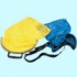 Omer питомза жёлтая пластиковая ручка